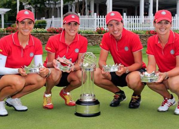 El equipo español, campeón del Mundo.