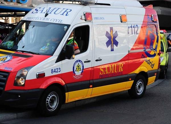 Ambulancia del samur. Autor: Juan luis Jaen