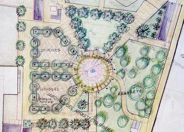 Propuesta provisonal para los Jardines del Arquitecto Ribera