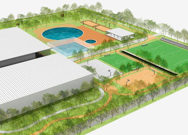 Instalaciones deportivas de la cam existentes y proyectos - Proyecto club deportivo ...